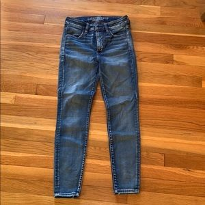 Super stretch AE jeans
